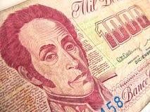 Dinero venezolano Fotografía de archivo libre de regalías