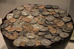 Dinero viejo de la historia imagen de archivo libre de regalías