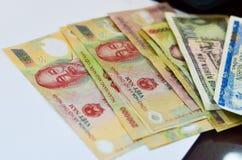 Dinero vietnamita (Dong) Foto de archivo libre de regalías