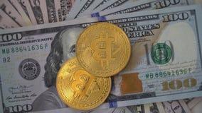 Dinero y dólar de Digitaces almacen de metraje de vídeo