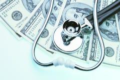 Coste de la atención sanitaria Fotos de archivo libres de regalías