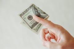 Dinero y presupuesto imagen de archivo libre de regalías