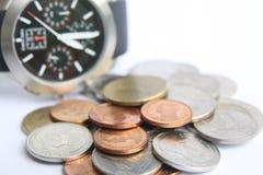 Dinero y tiempo foto de archivo libre de regalías