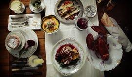 Dinerpartij Royalty-vrije Stock Fotografie