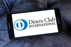 Diners Club International logo royalty free stock photography