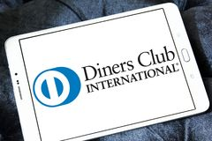 Diners Club International logo stock photography