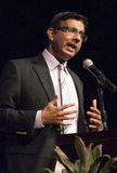 Dinesh D'Souza. American political commentator, filmmaker, and author, gave a rousing speech at United We Stand featuring Sarah Palin Stock Images