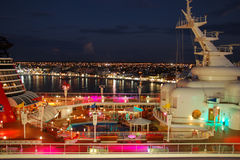 Diney Magic cruise ship royalty free stock photography