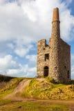 Ding Dong Mine Cornwall imagen de archivo libre de regalías