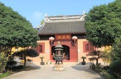 Ding Hui temple Suzhou China. Ding Hui temple in Suzhou China. Ding Hui temple is one of the oldest temple in Suzhou Stock Photo