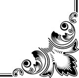 Dingbat. Floral elements. vectorized scroll design. color as you wish Royalty Free Stock Images
