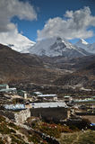 Dingboche - Himalaya Royalty Free Stock Photos