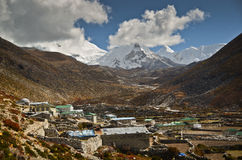 Dingboche - Himalaya Royalty Free Stock Photography