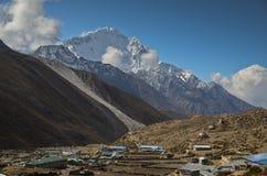 Dingboche - Himalayagebergte royalty-vrije stock fotografie