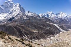 Dingboche Nepal fotografering för bildbyråer