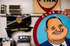 Dingen in het Route 66 -Automuseum royalty-vrije stock foto