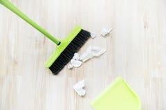 Dingen voor het schoonmaken Royalty-vrije Stock Foto's
