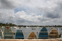 Dinghies Stock Image