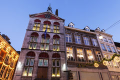 Dinghuis - Old courthouse in Maastricht Royalty Free Stock Photos