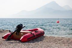 dinghy пляжа Стоковое Изображение RF