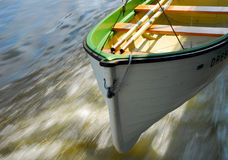 Dinghy. Little long-boat at pleasure boat Stock Photos