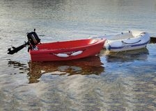Dinghy Boats. Isolated. Editorial Image. royalty free stock image