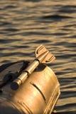 Dinghy oar Stock Images