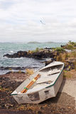 Dinghy on Rangitoto Island 02 Stock Images