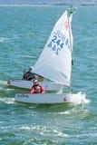 Dinghy Sailing, Sail, Water Transportation, Sailboat royalty free stock photos
