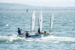 Dinghy Sailing, Water Transportation, Sail, Sailboat stock photos