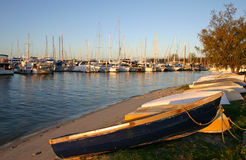 Dinghy And Yachts Stock Images