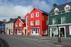 Dingle. Row of colorful houses in Dingle, county of Kerry, Ireland.Photo was taken in September 2912 Royalty Free Stock Photo