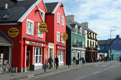 Dingle. Row of colorful houses in Dingle, county of Kerry, Ireland. Photo was taken in september 2012 Stock Photography