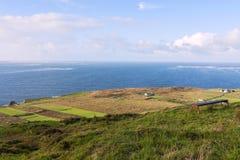 Взгляд полуострова dingle - Ирландии Стоковые Фото