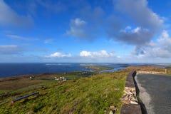 Взгляд полуострова dingle - Ирландии Стоковое Изображение