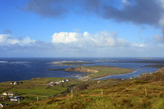 Взгляд полуострова dingle - Ирландии Стоковая Фотография
