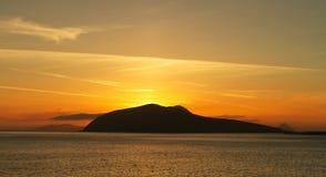 Dingle bay at sunset Stock Image