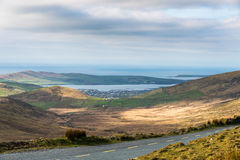 Dingle from Connor Pass Royalty Free Stock Images