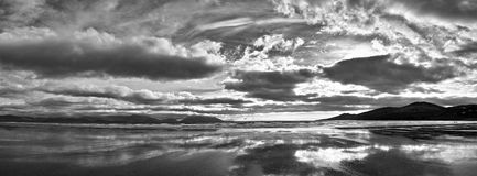 Dingle da praia da polegada fotografia de stock