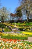 The Dingle Garden, Shrewsbury. Stock Photos