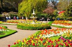 The Dingle Garden, Shrewsbury. Royalty Free Stock Photography