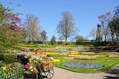 The Dingle Garden, Shrewsbury. Stock Photo