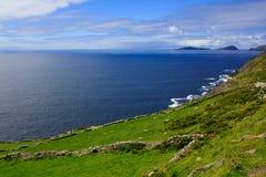 Dingle, Ireland. Seascape at Dingle Peninsula (County Kerry, Ireland Royalty Free Stock Photography