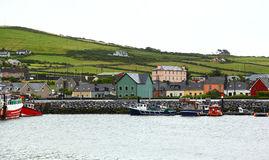 Dingle, Ireland. The seaside town of Dingle on the Irish coastline Stock Photos