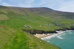 Dingle landscape. On the seaside,in ireland Stock Images