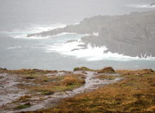 Dingle Peninsula And Atlantic Ocean Ireland Stock Photography