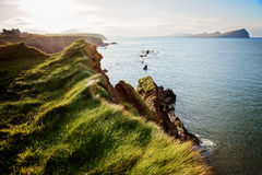 Dingle Peninsula. Cliffs in Dingle Peninsula, Ireland Royalty Free Stock Photos