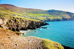 Dingle Peninsula. Cliffs in Dingle Peninsula, Ireland Stock Photography
