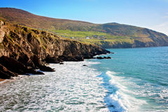 Dingle Peninsula. Cliffs off Dingle Peninsula, Ireland Royalty Free Stock Photos