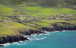 Cliffs near Coumeenoole, Dingle Peninsula, Ireland. Royalty Free Stock Photo